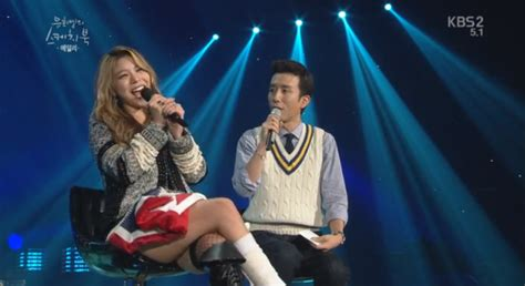 yoo hee yeol s sketchbook ailee ailee jokes about strategy for performing with an