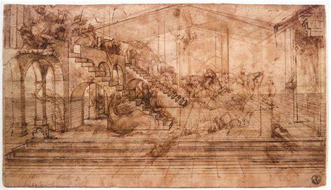 leonardo da vinci biography encyclopedia perspectival study of the adoration of the magi leonardo