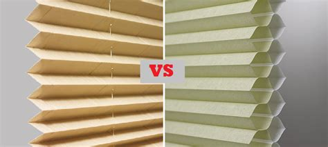 cellular shades vs pleated shades what s the best
