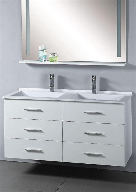 47 Inch Bathroom Vanity 47 Inch Royal Vanity Wall Hung Vanity White Sink Vanity