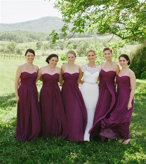 Bridesmaid Dress As Wedding Dress by Fall Wedding Bridesmaid Dress