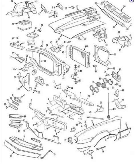 automotive service manuals 1969 pontiac firebird spare parts catalogs lights lenses us gm service parts