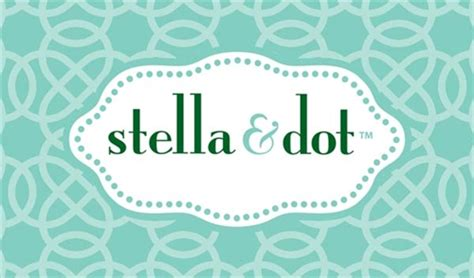free stella and dot business card template stella and dot business card design 1