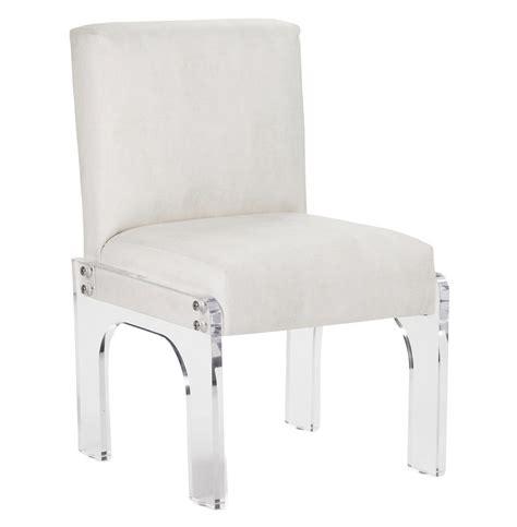 modern acrylic furniture aniston modern deco acrylic dining chair kathy kuo home