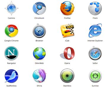 browse all alternative browsers that are worth a try