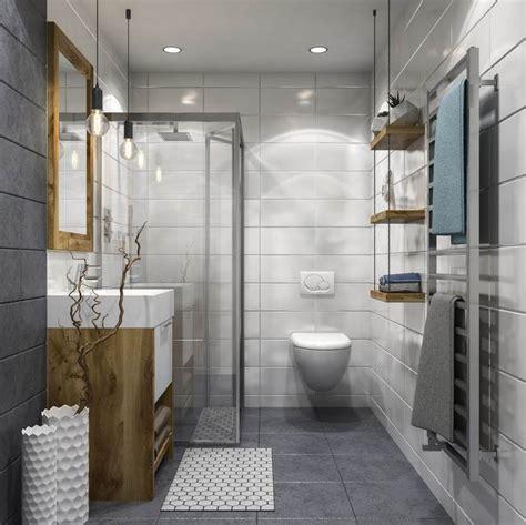 walk  shower   small bathroom design ideas