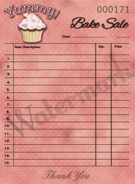 items similar  printable cupcake bake sale hang tag
