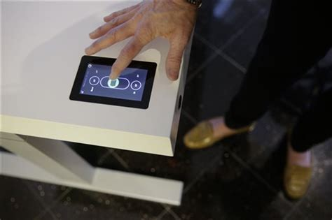 Desk Widget by Gadget The Desk That Tells You To Stand Up