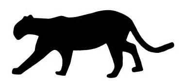 panther silhouette black panther silhouette clipart best