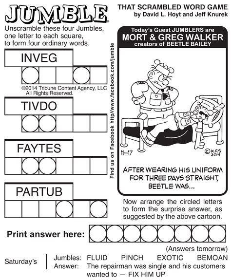 printable jumble games jumble crossword puzzles printable pictures to pin on