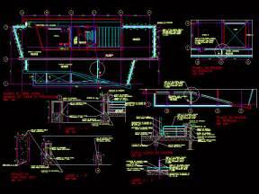 banister rail details dwg detail  autocad designs cad