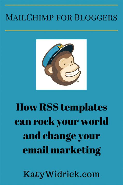 How To Use Mailchimp S Rss Email Template 187 Katy Widrick Mailchimp How To Use Templates