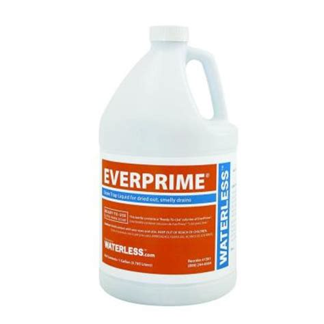 everprime 1 gal floor drain sealing liquid 1501 the