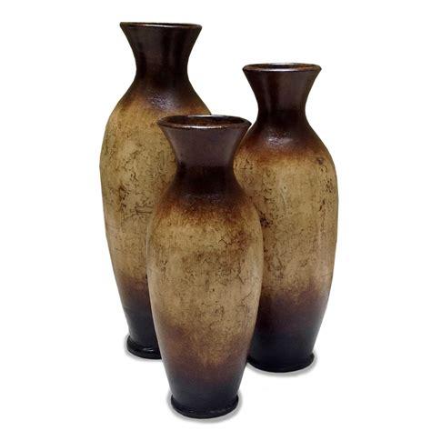 Vase Set Of 3 by Alamillo Vases Set Of 3