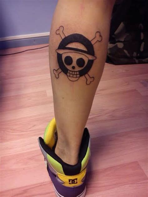 one piece hat tattoo 1st tattoo sent by mohamad jaafar 2nd and 3rd sent by