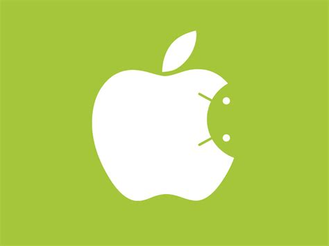 apple and android android inside apple logo by zhuravskiy dribbble