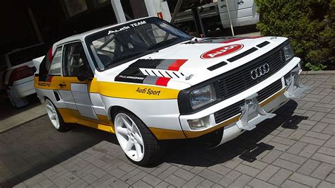 Audi Rally Car For Sale by Audi Sport Quattro S1 B Replica Rally Car For Sale