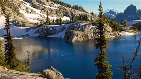 imagenes de otoño invierno paisajes hiver neige arbres lac