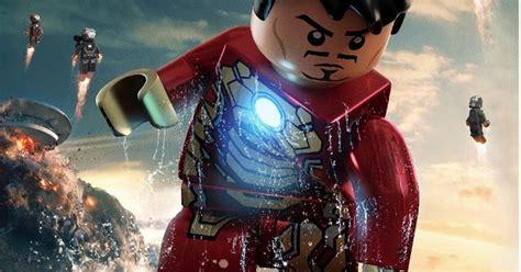 lego marvel super heroes faz parodia  posters de homem de ferro  noticias techtudo
