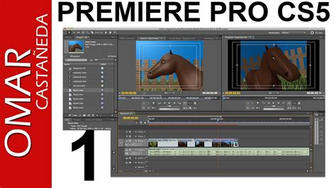 tutorial adobe premiere pro cs5 pdf adobe premiere pro cs5 tutorial parte 1 youtube