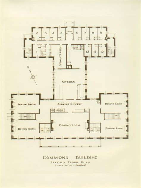 file bennington college commons building floor plan jpg wikipedia