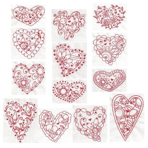 heart embroidery pattern 418 best embroidery images on pinterest embroidery