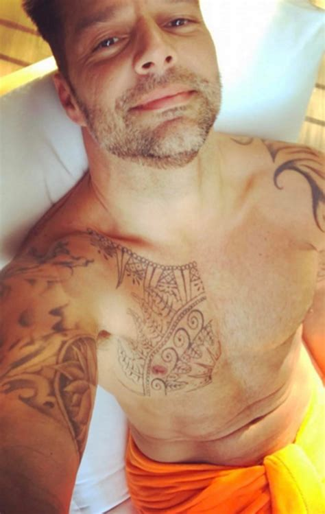 ricky martin tattoos american crime story ricky martin shocks fans by