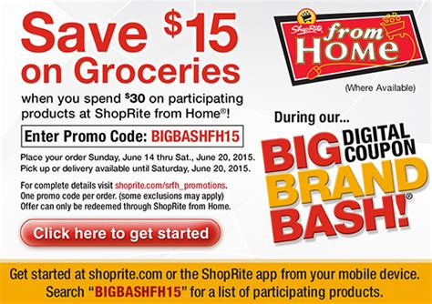 shoprite shop from home deals free all laundry skippy