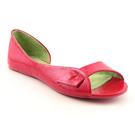 blowfish malibu blowfish malibu seeing womens sz 9 scarlet flats open