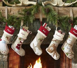 Ballard Designs Fabric christmas countdown day 3 christmas stockings b lovely