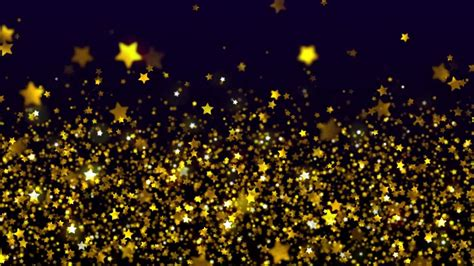 wallpaper with gold stars shimmering gold stars free stock video background loop