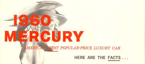 1960s fun facts directory index mercury 1960 mercury 1960 mercury facts