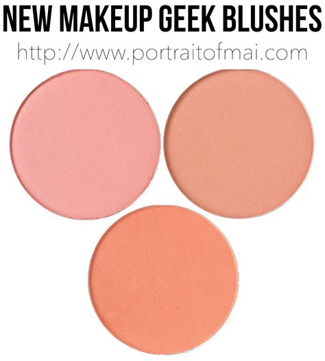 Blush Throb new makeup blushes swatches review and formula comparison portrait of mai
