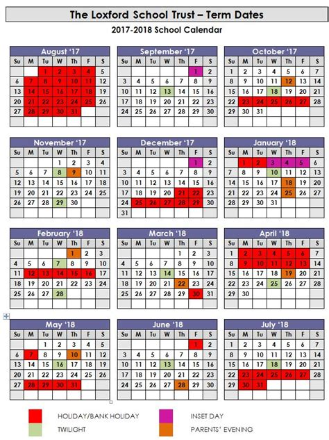 Calendar 2018 Uk School Holidays Calendar Aldborough Primary School