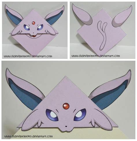 Espeon Papercraft - espeon by lildevilmomoko on deviantart