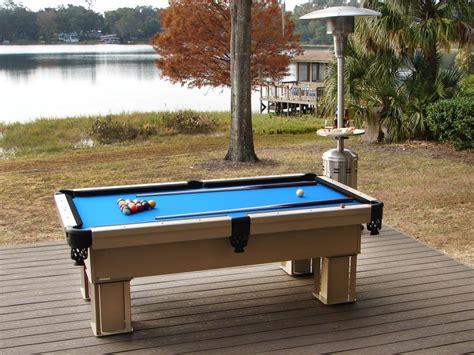 backyard pool table outdoor entertaining diy