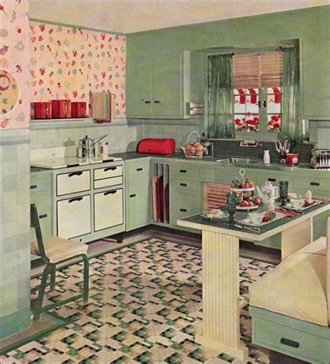 retro kitchens images top 10 coolest vintage kitchens old fashioned families
