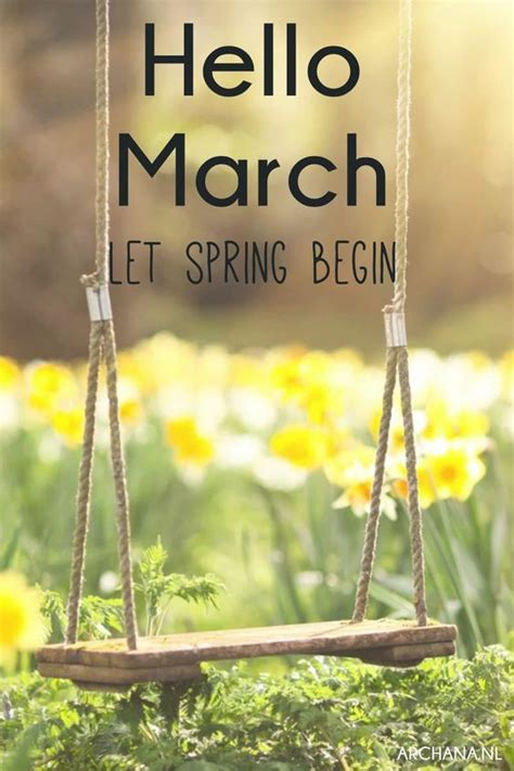 spring start hello march let spring begin pictures photos and images