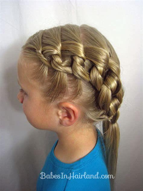knots hairstyle chunky knot hairstyle babes in hairland