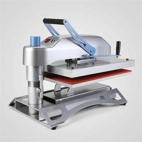 swing arm heat press 16 quot x20 quot air fusion heat press transfer machine swing arm