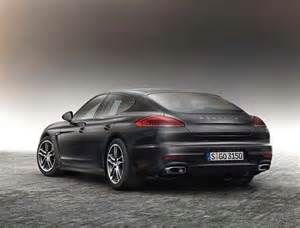 2016 Porsche Panamera 2016 Porsche Panamera Edition And Exclusive