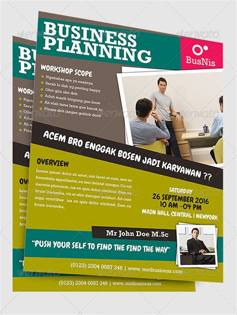20 workshop flyer templates psd eps format download