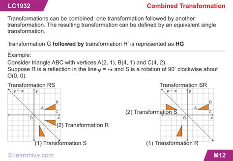 combinations of transformations worksheet combined transformations worksheet lesupercoin printables worksheets