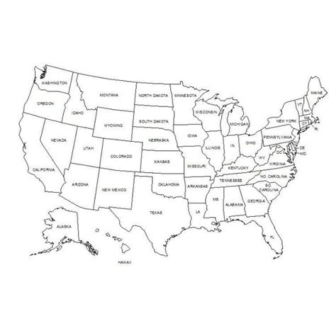 Drawing 50 States by Map Of Usa Cad Drawing Cadblocksfree Cad Blocks Free