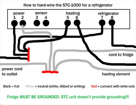 stc 1000 wiring diagram wiring diagram and schematics