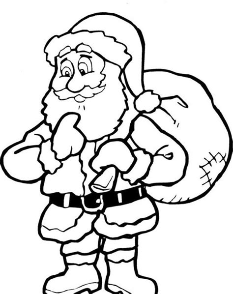 turkey claus coloring page santa claus printable coloring home