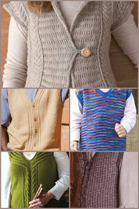 knitting daily patterns 31 best images about knitted vests on vests