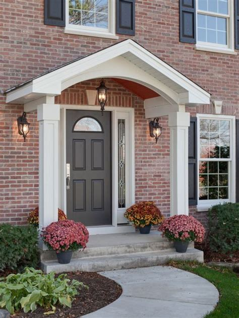 Portico On Colonial House | colonial portico houzz