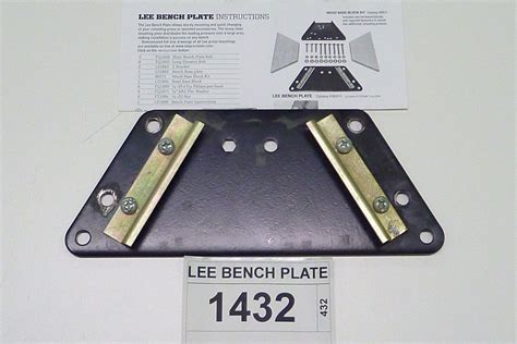 lee precision bench plate lee bench plate 28 images lee precision bench plate