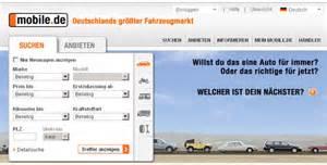 Mobile.de: Automobil Plattform seit 1996   Gründerszene